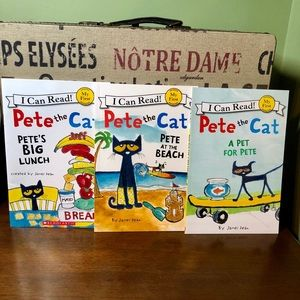I Can Read Other - New My First Reading Pete the Cat Books Set of 3